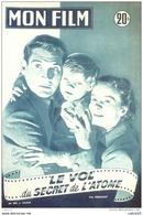 CINEMA-LE VOL Du SECRET De L'ATOME-GENE BARRY-LYDIA CLARKE-MF 399-1954 - Cinema