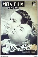 CINEMA-LES MIRACLES-JEAN MARAIS-ALIDA VALLI-MARCELLE ARNOLD-MF 268-1951 - Cinema