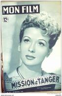 CINEMA-MISSION à TANGER-GABY SYLVIA-RAYMOND ROULEAU-JO DEST-1949 - Cinéma