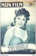 CINEMA-PAIN AMOUR Et JALOUSIE-GINA LOLLOBRGIDA-ROBERTO RISSO-MF 463-1955 - Cinema
