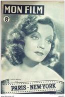 CINEMA-PARIS NEW YORK-CLAUDE DAUPHIN-JACQUES BAUMER-ANDRE LEFAUR-MF 46-1947 - Cinéma