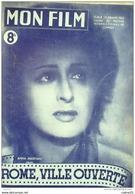 CINEMA-ROME VILLE OUVERTE-MARIA MICHI-ALDO FABRIZI-ANNA LAGNANI-MF 44-1947 - Cinéma