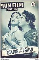 CINEMA-SAMSON Et DALILA-HEDY LAMARR-VICTOR MATURE-WILLIAM FARNUM-MF 283-1951 - Cinema
