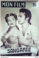 CINEMA-SANGAREE-FERNANDO LAMAS-JEAN MARAIS-LESTER MATTHEWS-MF 402-1954 - Cinema