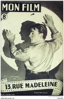 CINEMA-TREIZE RUE MADELEINE-JAMES CAGNEY-SAM JAFFE-FRANK LATIMORE-MF 63-1947 - Cinema