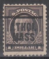 USA Precancel Vorausentwertung Preo, Locals Massachusetts, Athol 1917-203 - Vorausentwertungen