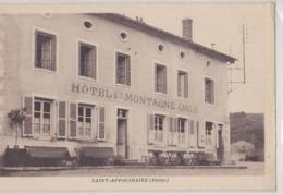 ST APPOLINAIRE Hôtel Montagne - Francia