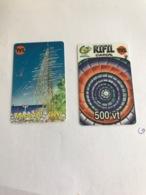 Vanuatu -  2 Different Cards - Vanuatu