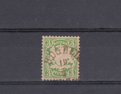 Bayern 37 Wappen 3 Pfennig - Stempel 19a RÜGHEIM 19.2. - Bayern (Baviera)