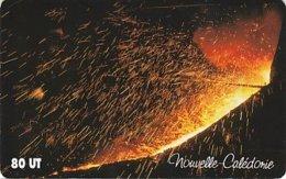 Télécarte Nlle Calédonie 2004 - Coulée De Nickel Usine Daniambo Nouméa, Tirage 15 000 - Nouvelle-Calédonie