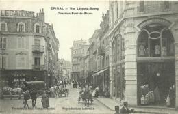 Epinal La Rue Leopold Bourg Direction Pont De Pierre - Epinal