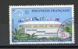 POLYNESIE - COMMISSION DU PACIFIQUE SUD - N° Yt PA 62 Obli. - Gebraucht