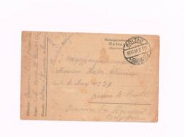Kriegsgefangenenpost.Expédié Du Camp De Soltau à Braine-le-Comte. - WW I