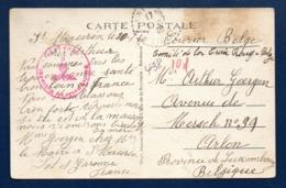 Arlon. Correspondance D'une Réfugiée Belge à St. Maurin (Lot Et Garonne). Censure Wehrmacht; Juillet 1940 - Arlon