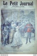 LE PETIT JOURNAL-1893-120-TSAR CHEZ AMBASSADEUR FRANCE/ST PETERSBOURG-18 BRUMAIR - Newspapers