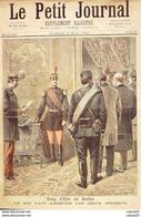 LE PETIT JOURNAL-1893-128-BELGIQUE/MONS/FUSILLADE-SERBIE/COUP D'ETAT - Giornali