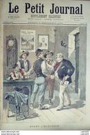 LE PETIT JOURNAL-1893-145-AVANT L'ELECTION-ET APRES - Newspapers