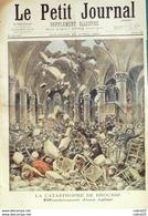 LE PETIT JOURNAL-1897-336-CASTRES/BROUSSE (81) CATATROSPHE, SOUPES Aux HALLES PARIS 4 (ROUSSEAU)-CHAMP De MARS PARIS 7 - Newspapers