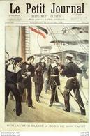 LE PETIT JOURNAL-1897-349-(RUSSIE) CHATEAU De PETERHOF-NORVEGE/GUILLAUME II,planche INSECTES - Newspapers