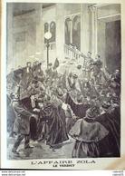 LE PETIT JOURNAL-1898-381-AFFAIRE ZOLA/REQUISITOIRE-PRINCE OUROUSSOF De RUSSIE - Newspapers
