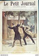 LE PETIT JOURNAL-1898-400-INCIDENT ESTERHAZY PICQUART-CORSE GENDARME/BANDIT - Newspapers