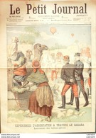 LE PETIT JOURNAL-1903-636-JOE CHAMBERLAIN AFRIQUE SUD-AEROSTATION EN SAHARA - Newspapers