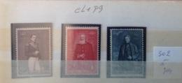 Cl1. P9.1.  Fraîcheur Postale. Sans Charnière. COB. 302  >>> 304 - Nuevos