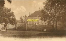 51 Mondemont, Le Chateau Où Pénétra Le 77 ème R I Du Colonel Lestoquoi, Visuel Peu Courant - Otros Municipios