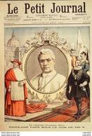 LE PETIT JOURNAL-1903-665-CARDINAL GIUSEPPE SARTO DEVENU PAPE PIE X-HUMBERT - Newspapers