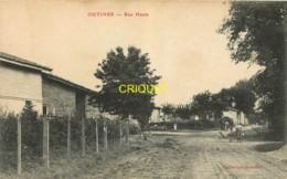 51 Outines, Rue Haute, écrite Par Un Poilu, 1915 - Autres Communes