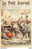 LE PETIT JOURNAL-1906-810-RIXE ALGERIEN/MAROCAINS-INCENDIE ECURIES De LORD DERBY - Giornali