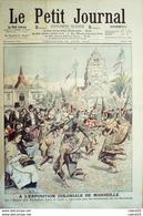 LE PETIT JOURNAL-1906-814-MARSEILLE (13) DANSE Des NYMPHES-ROI SISOWATH-CAMBODGE/PNOM PEN - Le Petit Journal