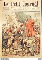 LE PETIT JOURNAL-1906-833-FRONTIERE ALGERO/MAROCAINE-CATASTROPHE De BIZERTE - Giornali