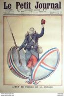 LE PETIT JOURNAL-1913-1166-DAUPHINS DESTRUCTEURS De SARDINES MOROCH/BELUGA-OEUF De PAQUES - Giornali