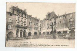 12 Villefranche De Rouergue Place Notre Dame - Villefranche De Rouergue