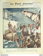 LE PETIT JOURNAL-1924-1748-DOUMERGUE/MONTMARTRE-OSCAR EGG-MER ROUGE-News Photos - Journaux - Quotidiens