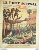 LE PETIT JOURNAL-1928-1955-BUDAPEST CYCLONE-TRANSVAAL/CROCRODILES-News Photos - Le Petit Journal