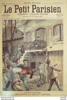 LE PETIT PARISIEN-1900-574-ST ETIENNE (42) MAISON DE MINEUR ASSIEGEE-TRANSVAAL-BOERS - Newspapers