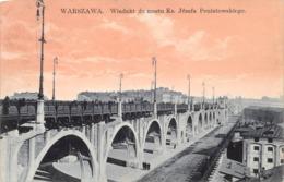 Warszawa Wiadukt Do Mostu Ks. Josefa Poniatowskiego - Polen