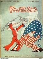 FANTASIO-1914-188-Pdt WILSON-MARIA KOUSTNETZOFF-CAILLAUX-OPERA RUSSE - 1900 - 1949