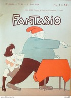 "FANTASIO-1924-412-SCHAH De PERSE ""AHMED KADJAR""-FLEURS De MONTMARTRE - Bücher, Zeitschriften, Comics"