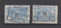 COB 23 Oblitération NAMUR + NAMUR N°1 - 1895-1913