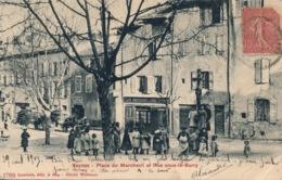 I116 - 05 - VEYNES - Hautes-Alpes - Place Du Marchevil Et Rue Sous-Le-Barry - Francia
