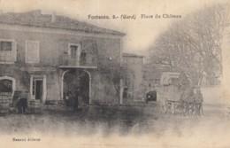 CPA - Fontanès - Place Du Château - France