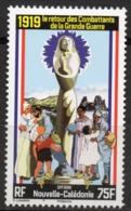 Nouvelle-Calédonie 2019 - Cent 1ere Guerre Mondiale, Retour Des Combattants De La Grande Guerre - 1 Val Neuf // Mnh - New Caledonia
