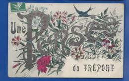 Une Pensée Du TREPORT      écrite En 1909 - Frankreich