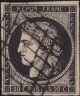 France  .   Yvert   .     3       .     O          .       Oblitéré - 1849-1850 Ceres
