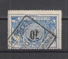 COB 23 Oblitération SCHAERBEEK Marchandises - Pesage - 1895-1913