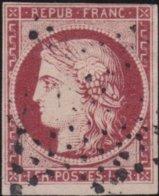 France  .   Yvert   .     6  (2 Scans)       .     O          .       Oblitéré - 1849-1850 Ceres