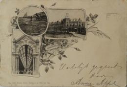 Zandvoort / Litho // Oa Hotel Belvedere 1900 Randen Iets Sleets - Zandvoort